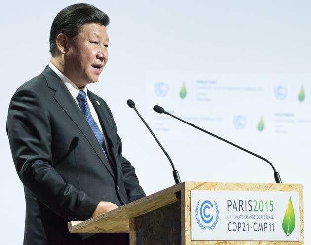 Xi Jinping en su discurso en el Acuerdo de París, 2015