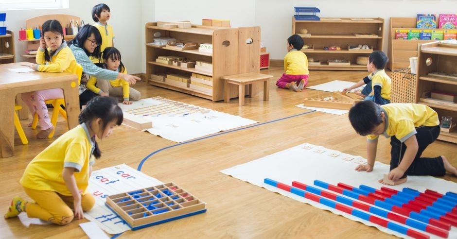 Clases con el Método Montessori