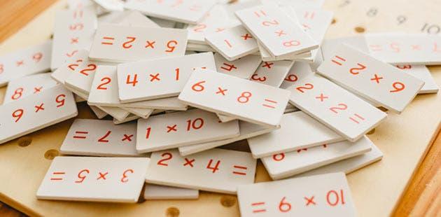 Material de aprendizaje Montessori