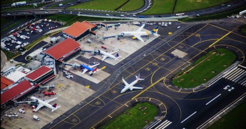 Aeropuerto desde arriba