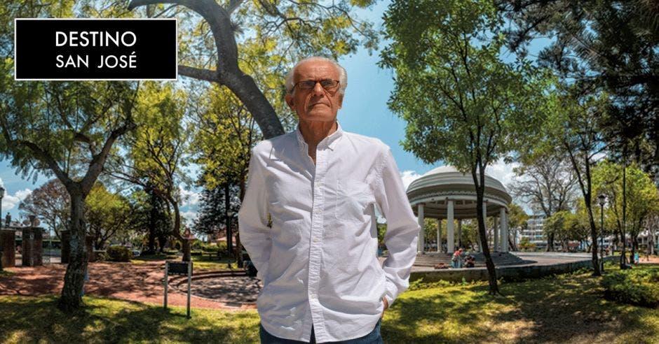 Vemos a Fred Blaser en el Parque Morazán