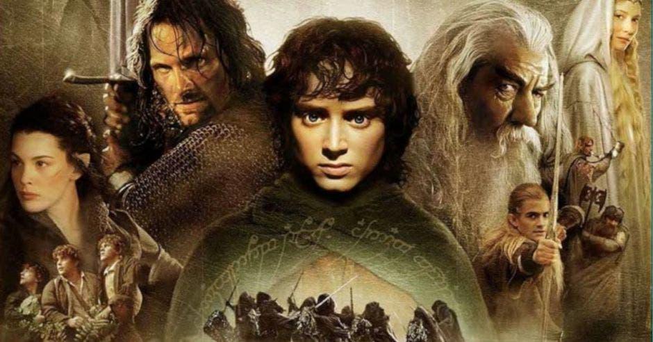 El Señor de los Anillos Poster