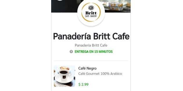 logo de la panadería café britt
