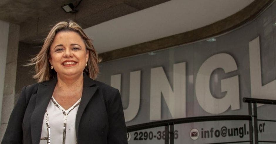 Karen Porras, directora ejecutiva de la UNGL. Archivo/La República.