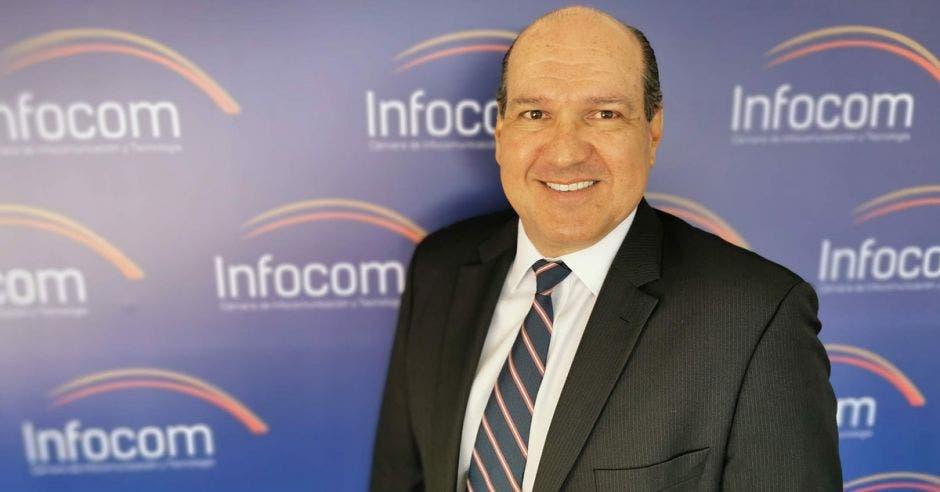 Mario Montero, presidente de la Cámara de Infocom.
