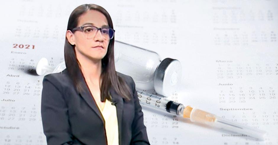 Leandra Abarca, coordinadora de Inmunizaciones de la Caja.
