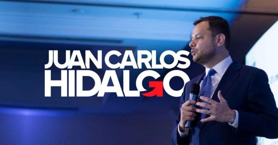 Juan Carlos Hidalgo, candidato a diputado