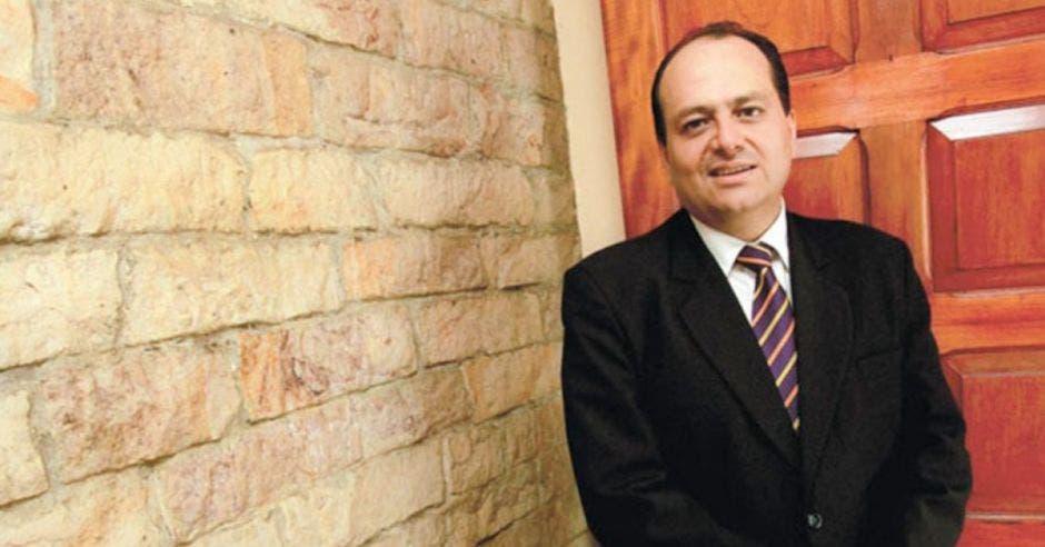 Claudio Alpízar, precandidato del PLN.