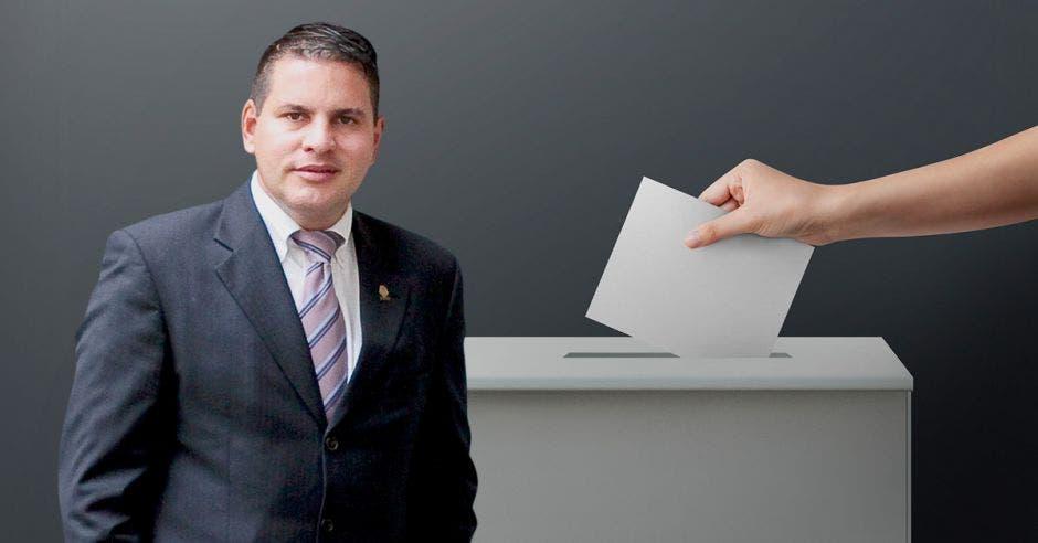 Fabricio Alvarado, candidato presidencial de Nueva República