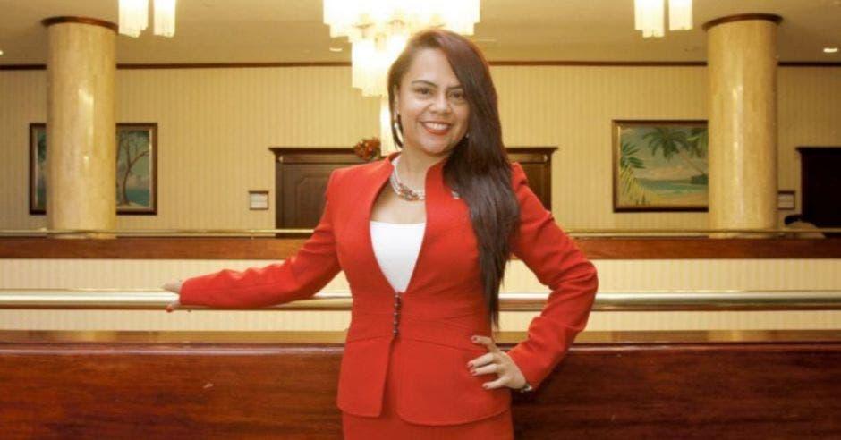 Geannina Dinarte, ministra de la presidencia