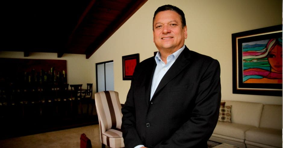 Johnny Araya, alcalde de San José.