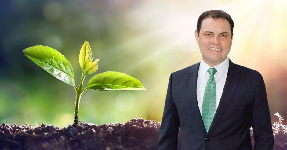 Carlos Ricardo Benavides, precandidato de Liberación Nacional (PLN)