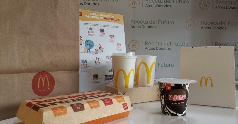 Empaques de McDonalds