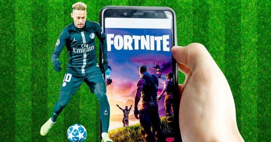 Neymar ya tiene su avatar en Fortnite. Fortnite/La República
