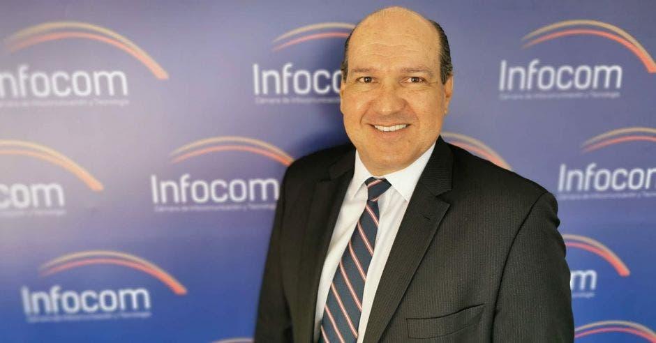 Mario Montero presidente de la Cámara de Infocom.