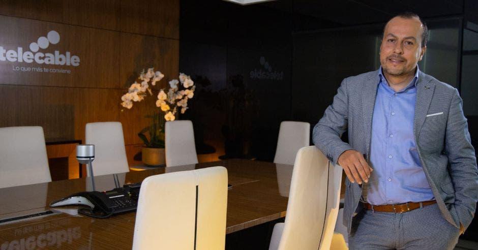 Ronald Jiménez, director de la Unidad Residencial de Telecable
