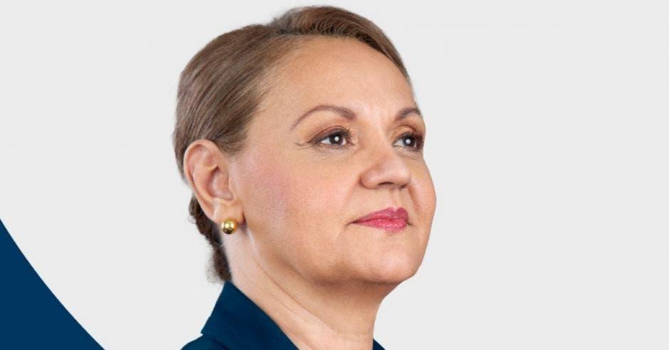 Lineth Saborío, candidata a la presidencia