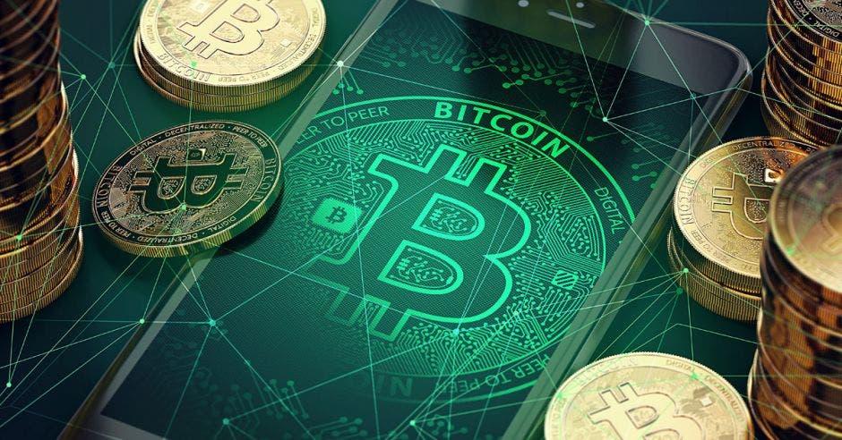 Bitcoin dibujado
