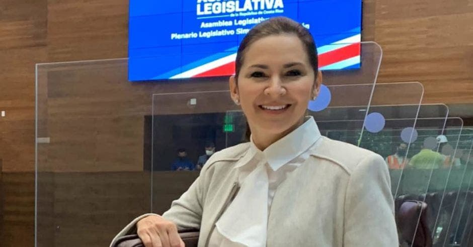 Silvia Hernández, diputada del PLN