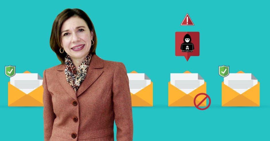 Annabelle Ortega, directora de la Cámara de Bancos