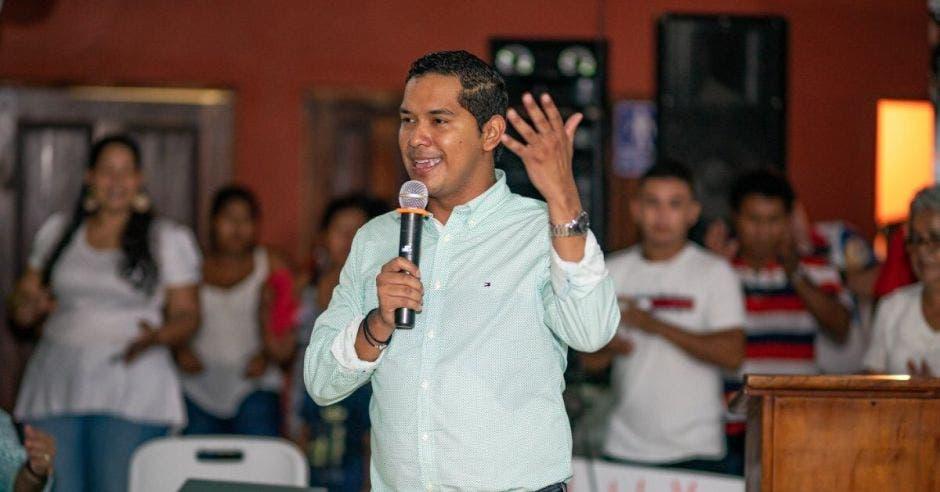 Gustavo Viales, presidente de la Comisión de Seguridad y Narcotráfico del Congreso