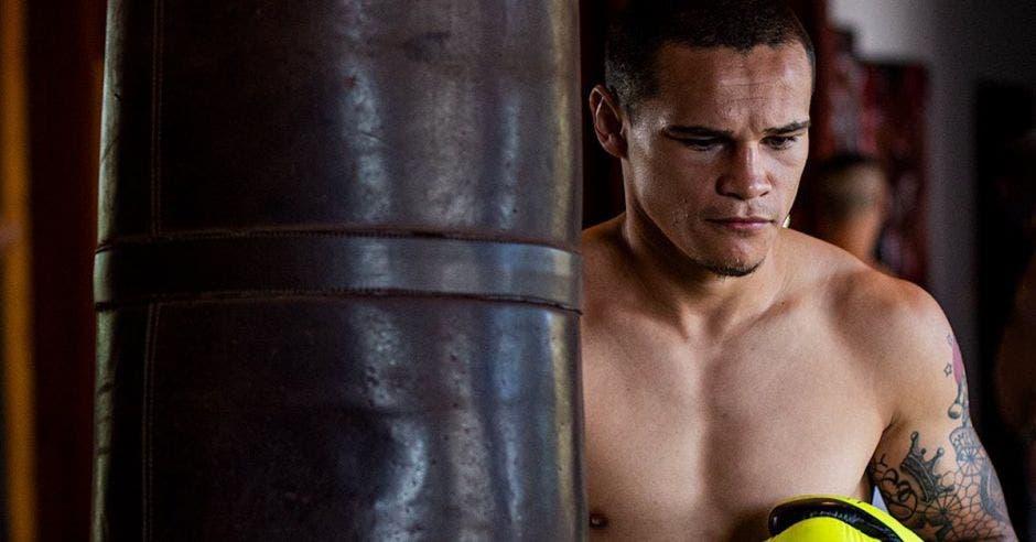 """David """"Medallita"""" Jiménez boxeador"""