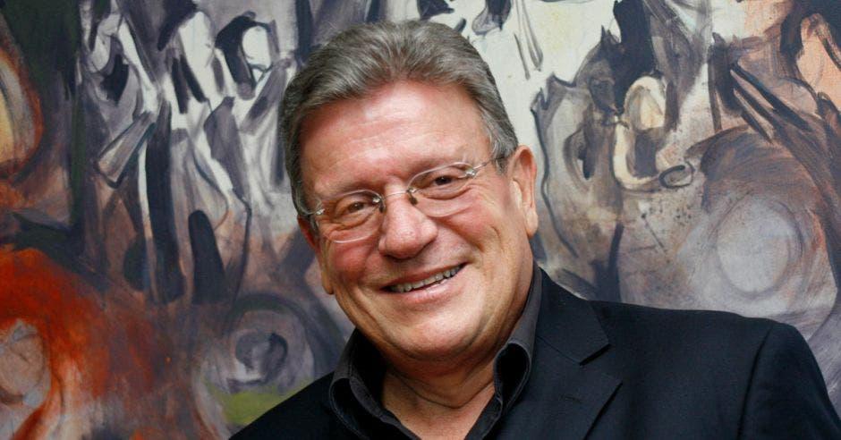 Rolando Araya, candidato presidencial del Partido Alianza Patriótica