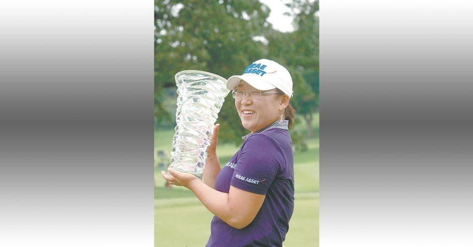 surcoreana Jiyai Shin jugadora de golf