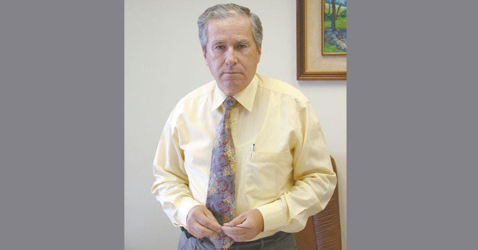 Jorge Brenes, presidente de la Asociación de Empresas de Zonas Francas