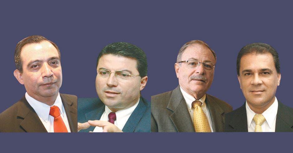 Gerentes de varias entidades financieras de Costa Rica