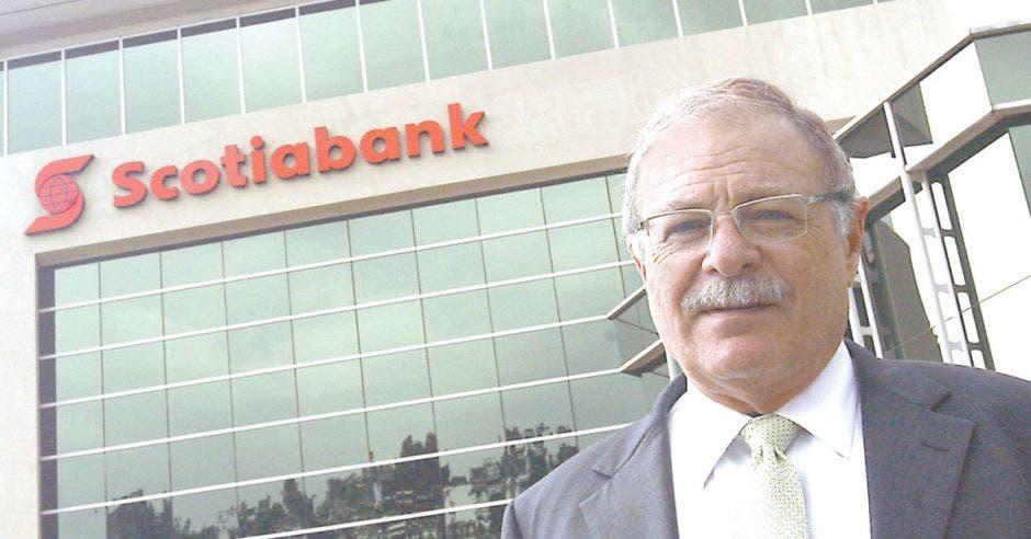 Luis Liberman, gerente de Scotiabank