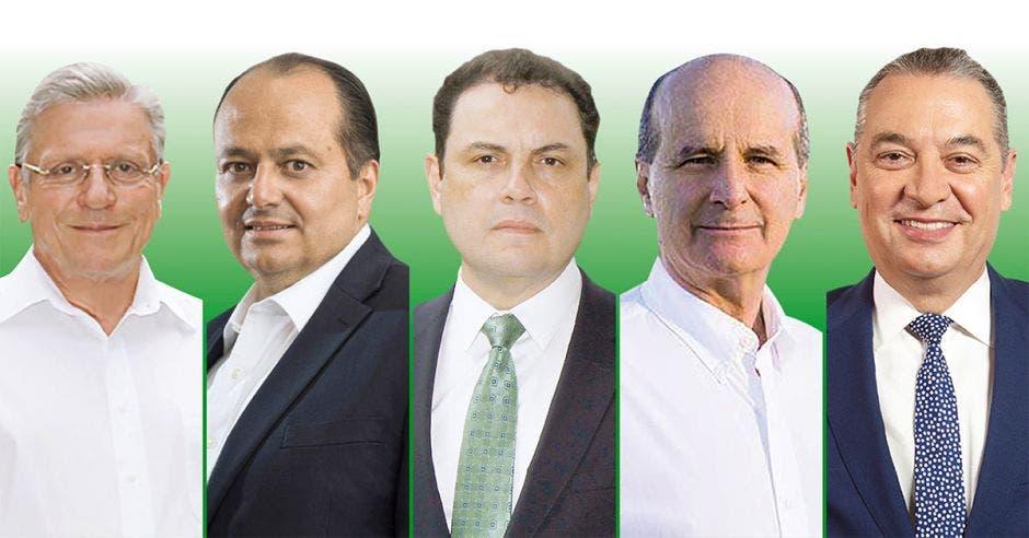 precandidatos de Liberación Nacional (PLN)