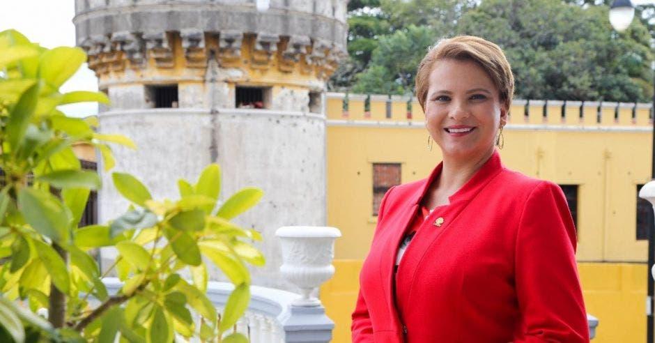 Carmen Chan, diputada de Nueva República.