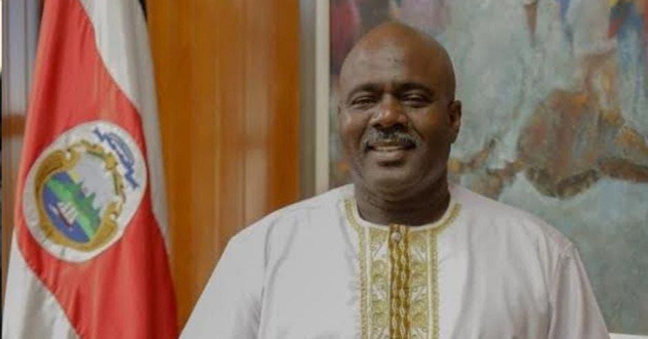Enrique Joseph, comisionado Presidencial para Asuntos de la Afrodescendencia.