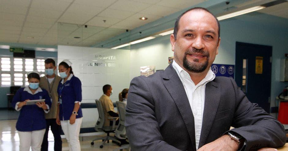 Roberto Vargas, gerente de Operaciones del Hospital Clínica Bíblica.