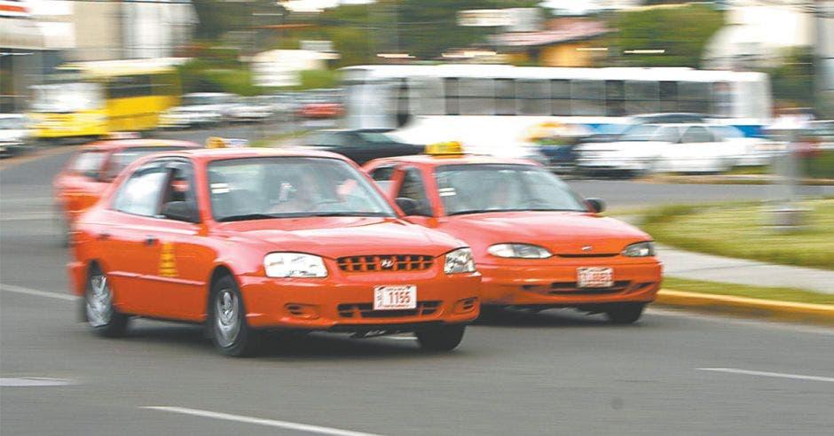 Carros taxi