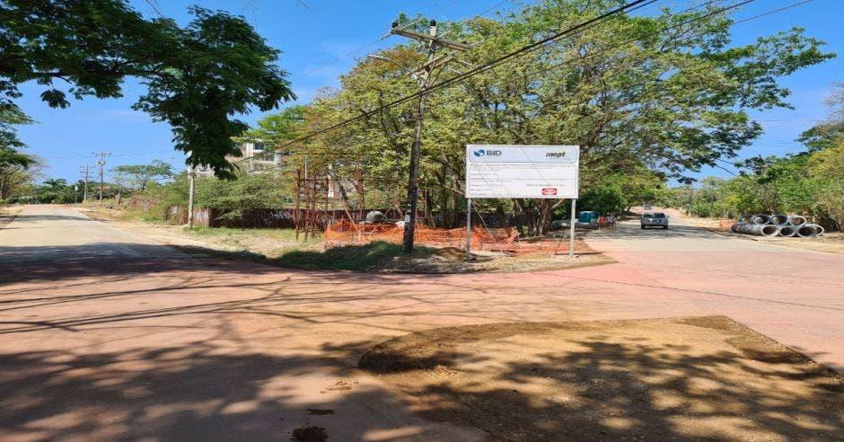 Obras en tramo Tamarindo-Langosta