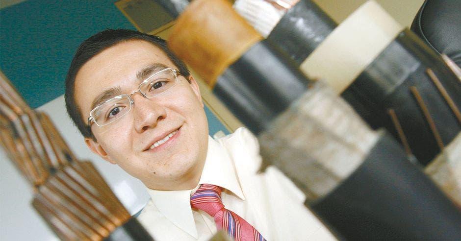 Juan Fernando Acuña, gerente de Enercom