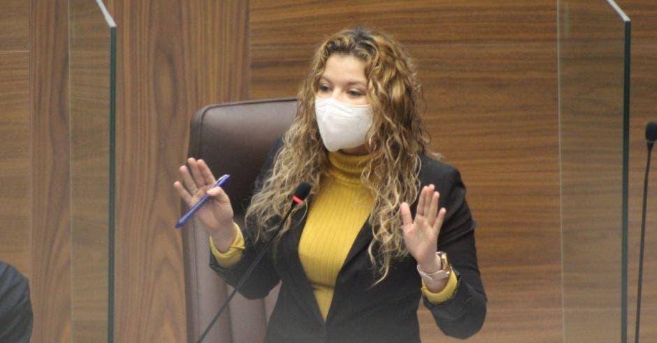 Xiomara Rodríguez, diputada de Restauración.