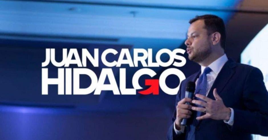 Juan Carlos Hidalgo, candidato a diputado por el PUSC