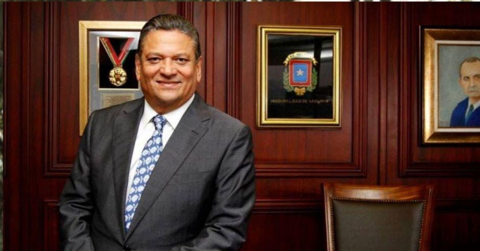 Johnny Araya, alcalde de San José. Archivo/La República