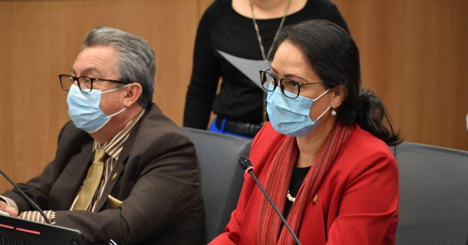 Nielsen Pérez, diputada del PAC.