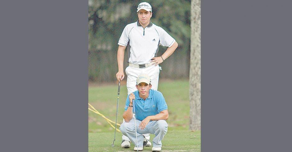 Jugadores de golf guatemaltecos