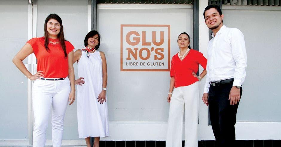 socias fundadoras de empresa Gluno's y gerente general