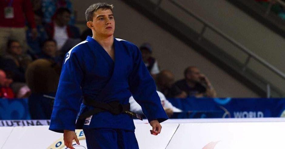 judo Costa Rica azul