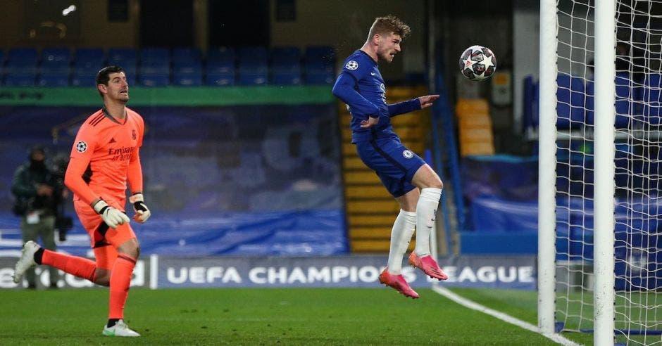 Chelsea real Madrid portero y delantero