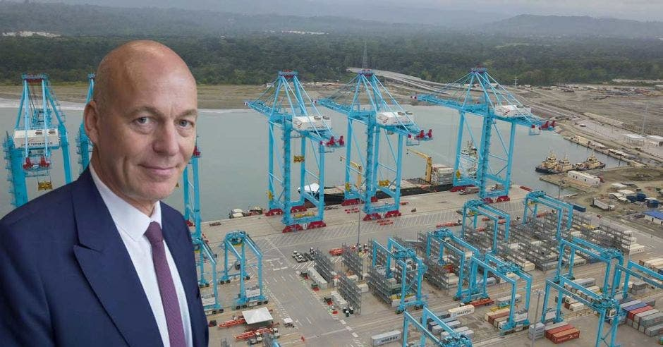 Hartmut Goeritz, Director General de la empresa en Costa Rica. Archivo/La República