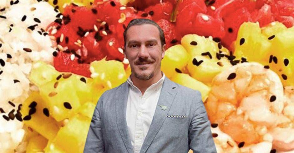 Marco Antonio Ganoza, propietario y chef de la Divina Comida. Archivo/La República