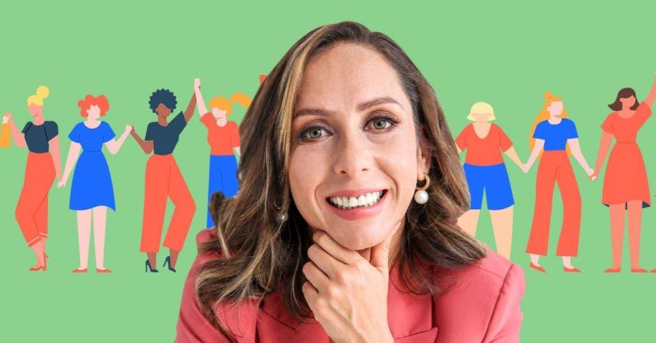 Carolina Hidalgo, precandidata del PAC. Cortesía/La República.