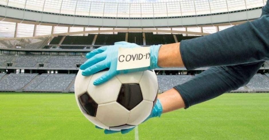 futbol civid balon